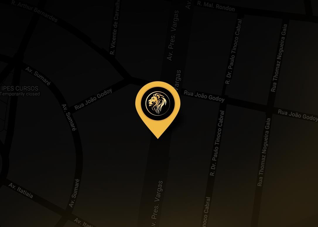 Avenida Presidente Vargas, 2121   -    6° Andar -Sala 605 Jd. América - Ribeirão Preto/SP   -   CEP: 14020-260 - Brasil